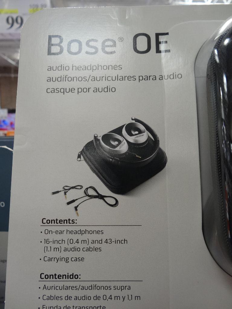Electronic Signature Free >> Bose On Ear (OE) Headphones