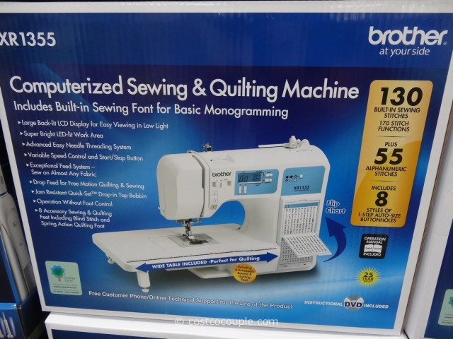 Brother Computerized Sewing Machine XR1355 Costco 2