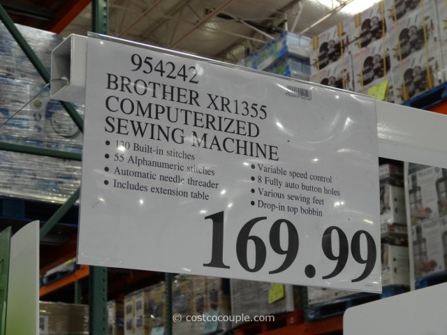 Brother Computerized Sewing Machine XR1355 Costco 6