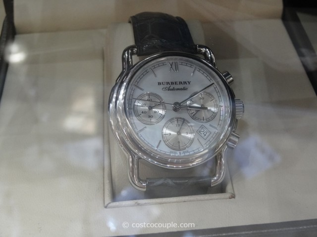 Burberry Mens Mop Dial Blue Strap Watch Costco 1
