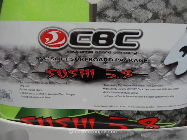 CBC Sushi Surf Board Costco 2