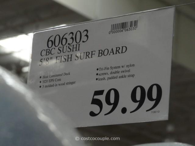 CBC Sushi Surf Board Costco
