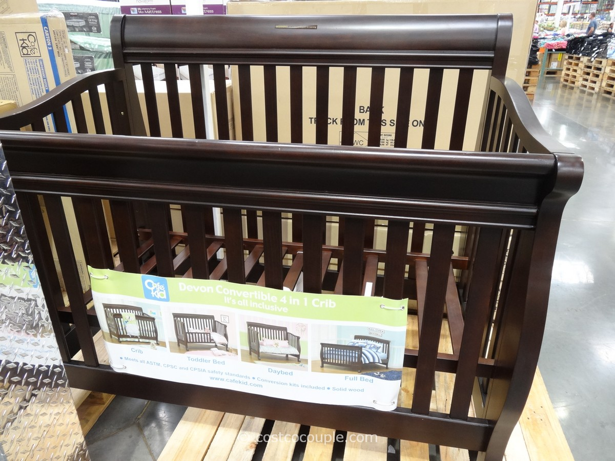 Cafe Kid Devon Convertible 4 In 1 Crib Costco 1