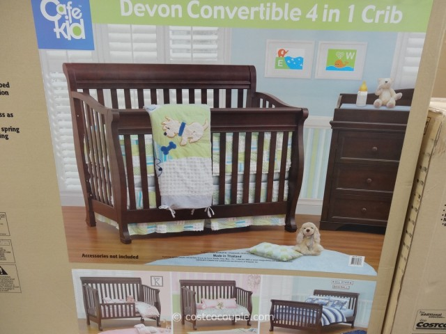 Cafe Kid Devon Convertible 4 in 1 Crib Costco 4