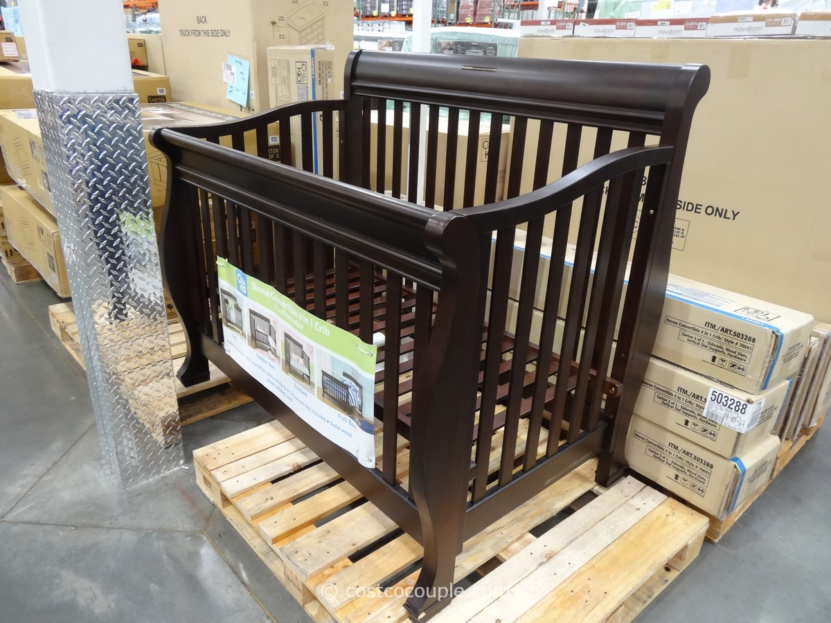 Cafe Kid Devon Convertible 4 in 1 Crib Costco 7