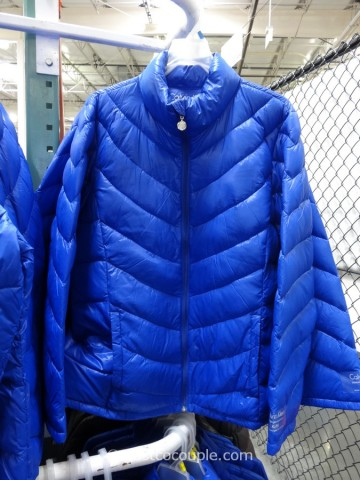 Calvin Klein Ladies Packable Down Jacket Costco 1