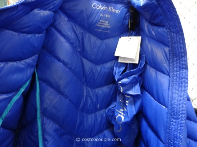 Calvin Klein Ladies Packable Down Jacket Costco 3