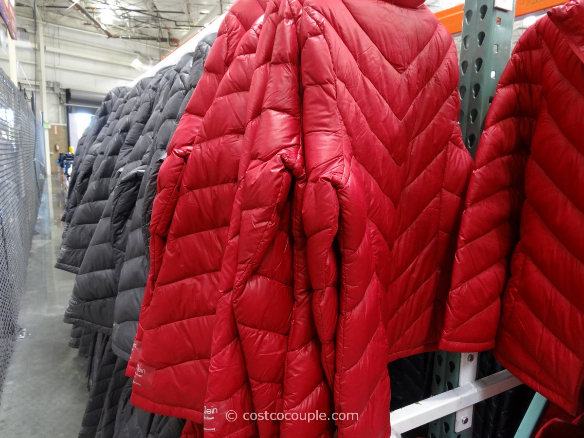 Calvin Klein Ladies Packable Down Jacket Costco 6