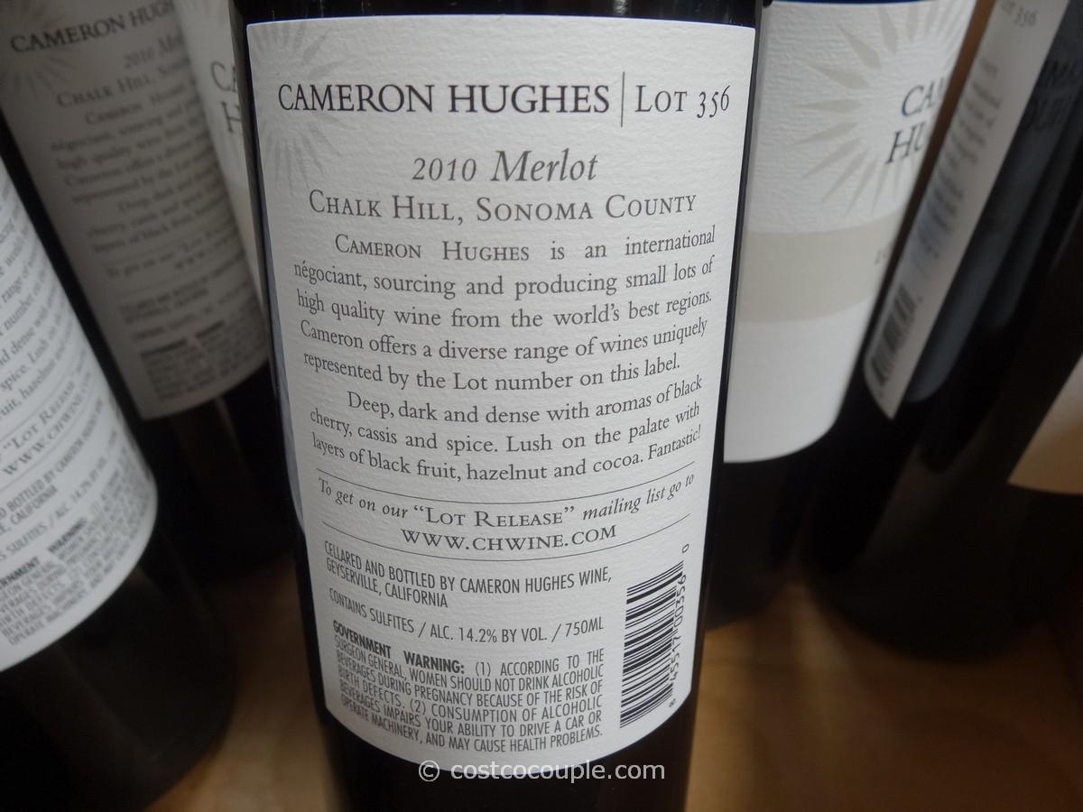 Cameron Hughes Lot 356 2010 Merlot