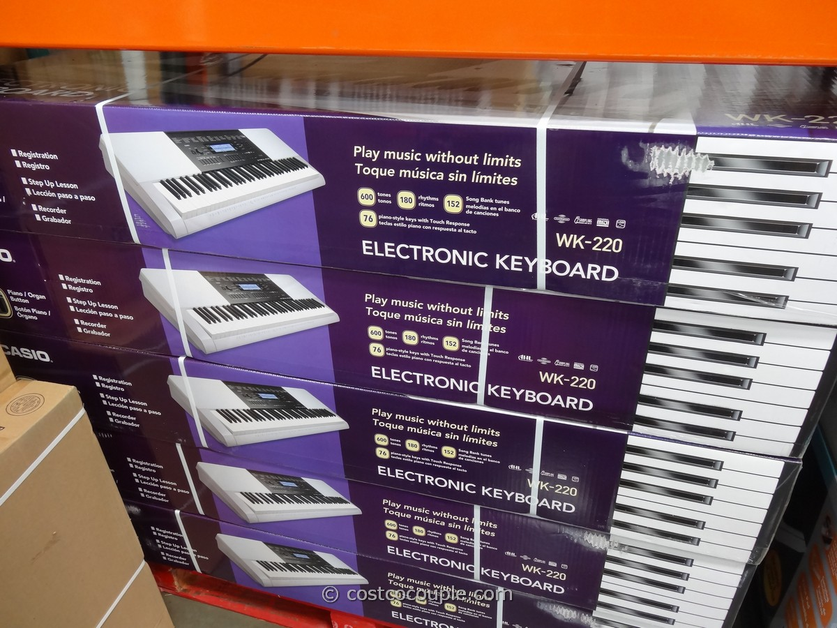 Casio Electronic Keyboard Costco 1
