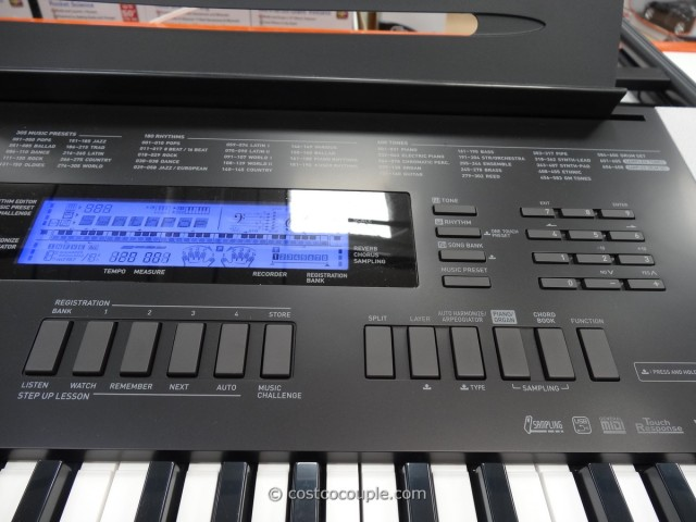 Casio Electronic Keyboard Costco 3