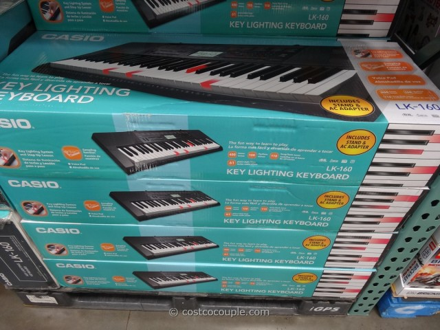 Casio Key Lighting Keyboard Costco 1