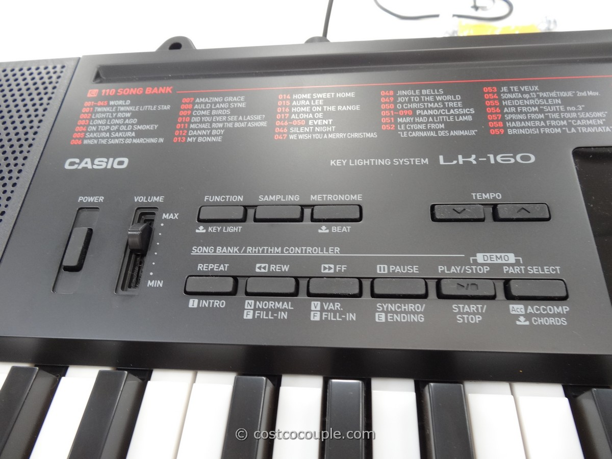Casio Key Lighting Keyboard Lk 160