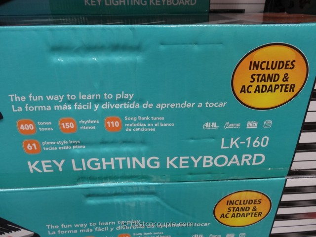 Casio Key Lighting Keyboard Costco 6