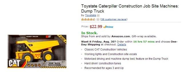 Cat Jobsite Machine Amazon