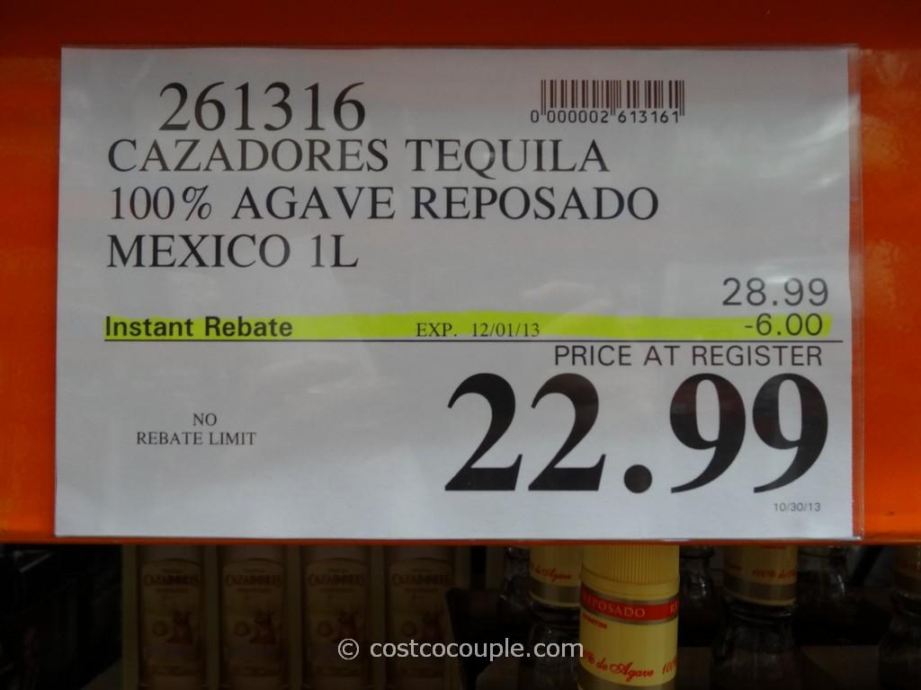Cazadores Tequila Costco