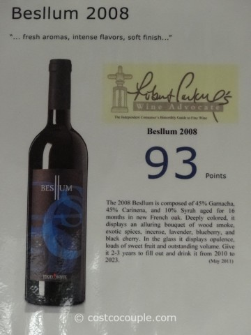 Celler 2008 Besllum Costco 2