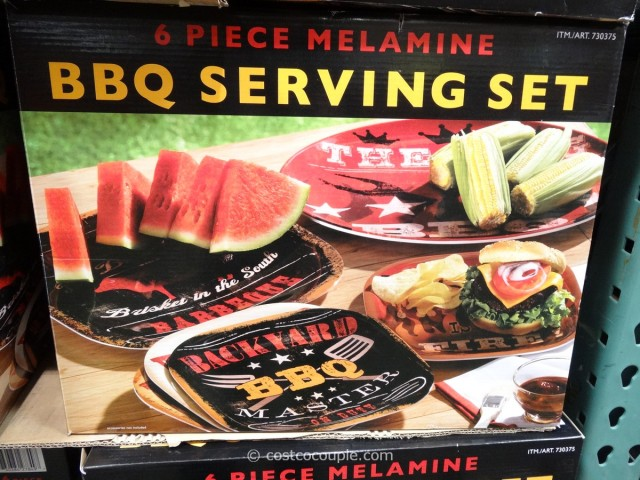 Certified International BBQ Serving Set Costco 1