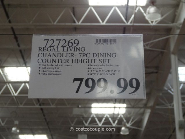 Chandler Counter Height Dining Set Costco
