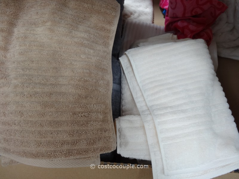 Charisma Ribbed Bath Towels Costco