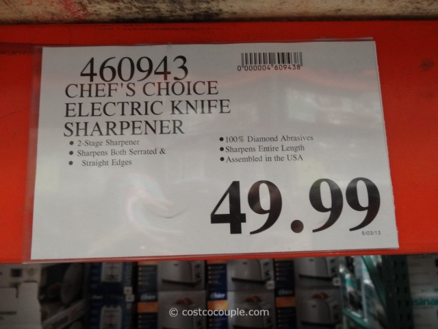 Chef's Choice Electric Knife Sharpener Costco 2