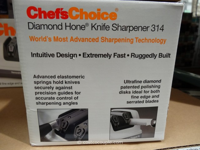 Chef's Choice Electric Knife Sharpener Costco 5