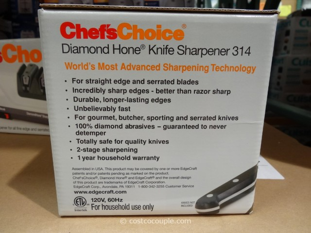 Chef's Choice Electric Knife Sharpener Costco 6