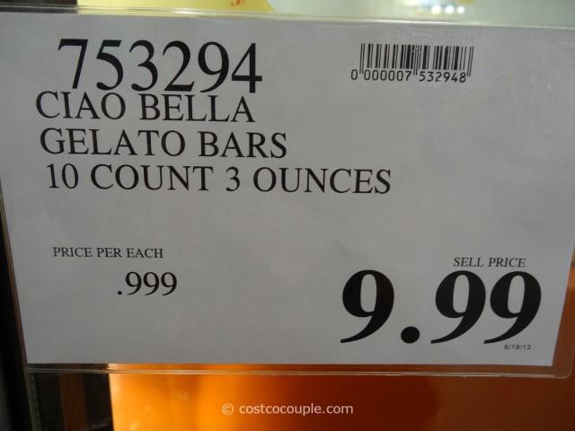 Ciao Bella Gelato Bars Costco 1