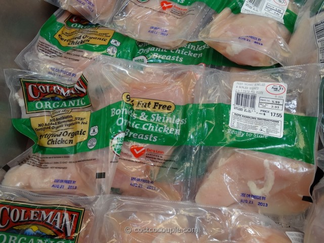 Coleman Organic Boneless Skinless Chicken Breast Costco 2