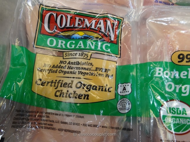 Coleman Organic Boneless Skinless Chicken Breast Costco 3