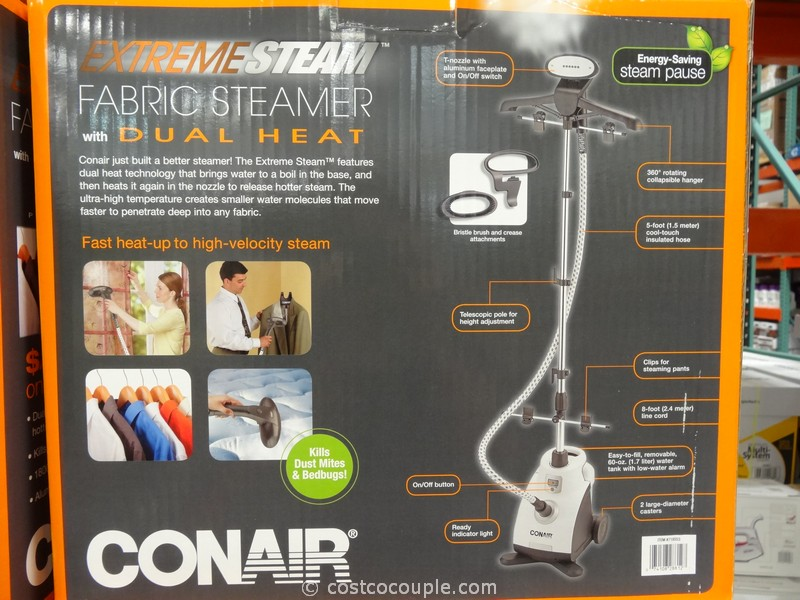 Conair ExtremeSteam Fabric Steamer Costco
