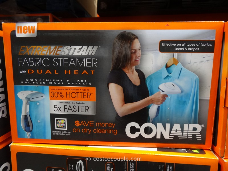 Conair ExtremeSteam Handheld Fabric Steamer Costco