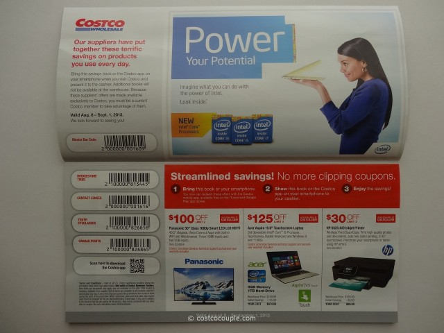 Costco August 2013 Coupon Book 2