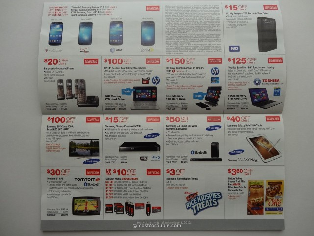 Costco August 2013 Coupon Book 3