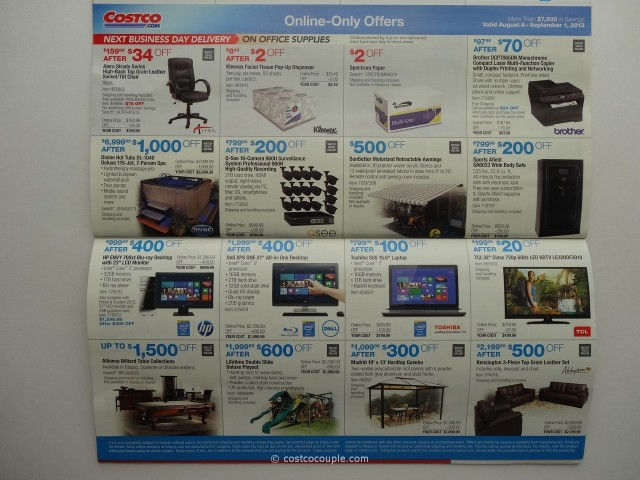 Costco August 2013 Coupon Book 9