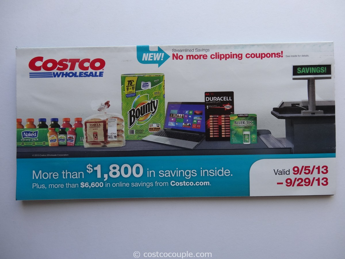 Costco September 2013 Coupon Book 1
