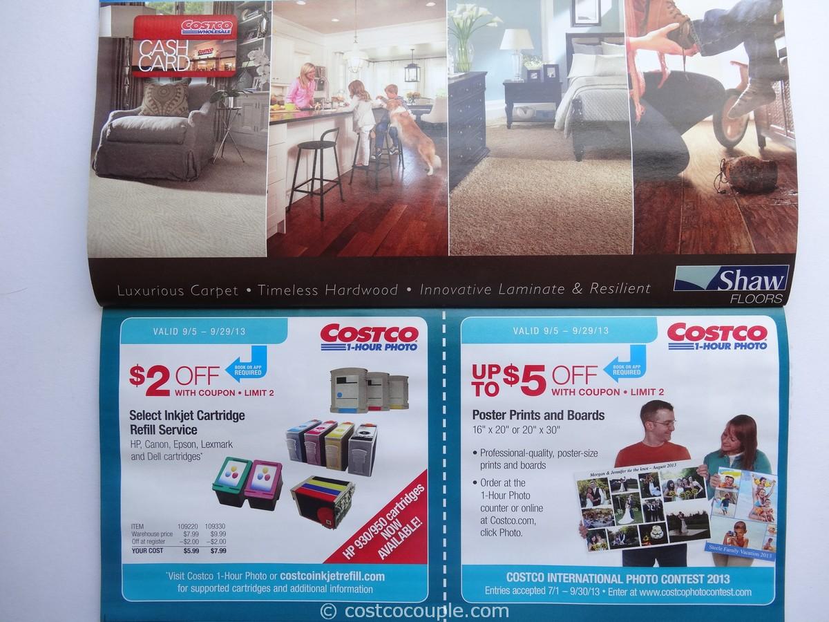 Costco photo poster sizes