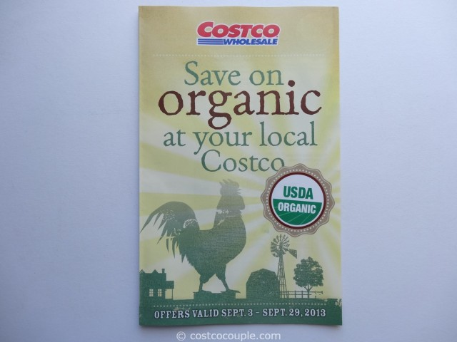 Costco September 2013 Organic Coupons 1