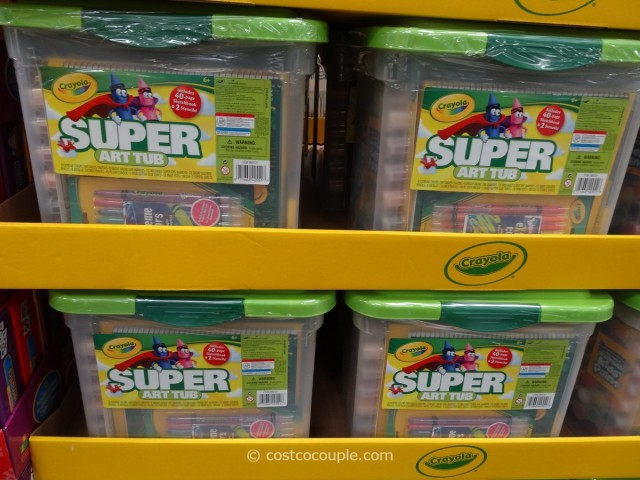 Crayola Super Art Tub Costco 1