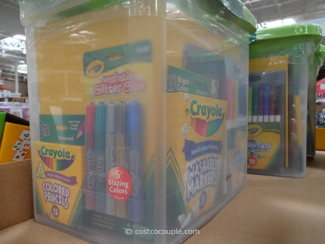 Crayola Super Art Tub Costco 3