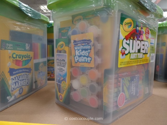 Crayola Super Art Tub Costco 4