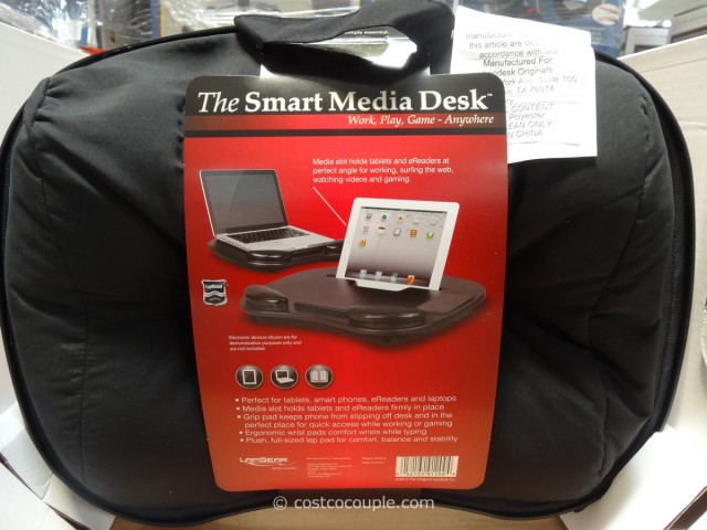 Creative Essentials Smart Media Desk Costco 3