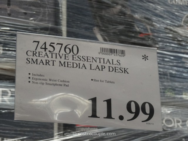 Creative Essentials Smart Media Desk Costco 4