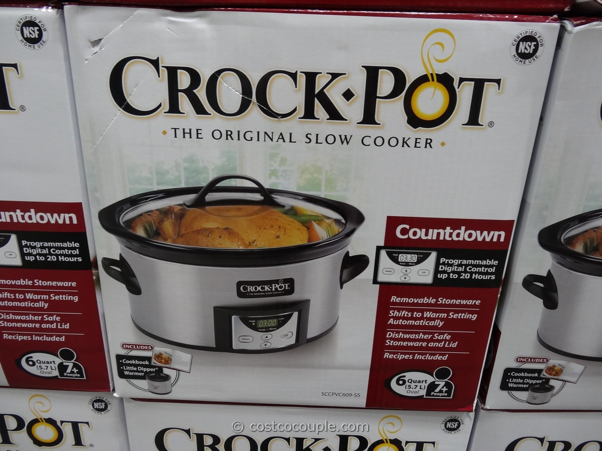 Crockpot 6Qt Slow Cooker Costco 1