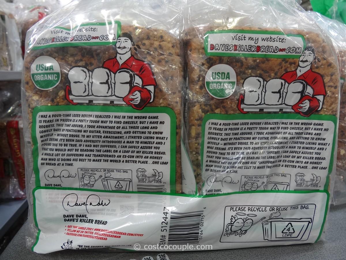 Dave S Organic 21 Whole Grain Bread