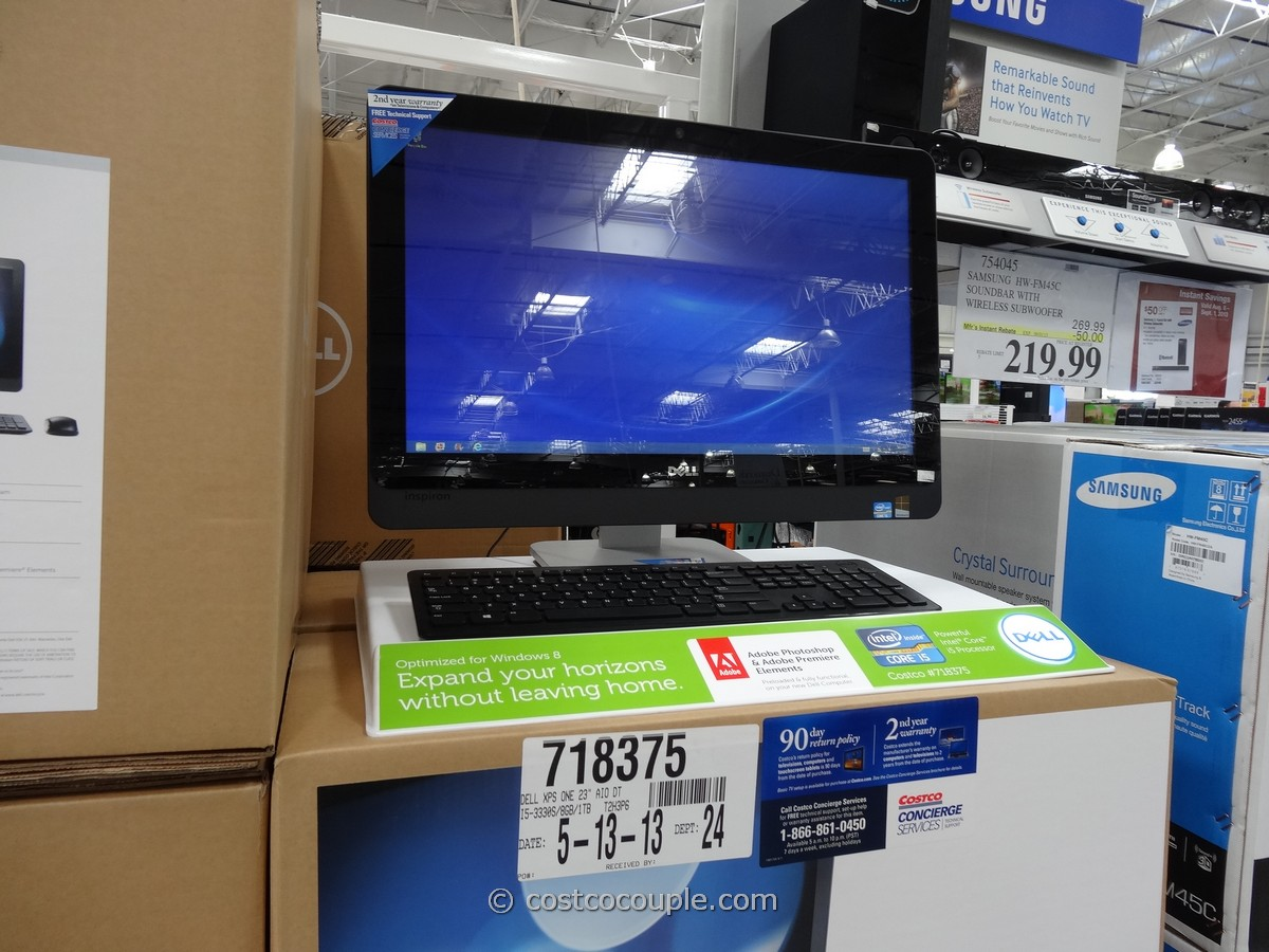Dell All-In-One Touchscreen PC IO2330 Costco 4