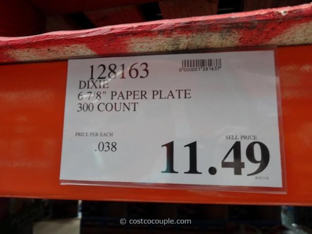 Dixie Ultra Paper Plates Costco 1