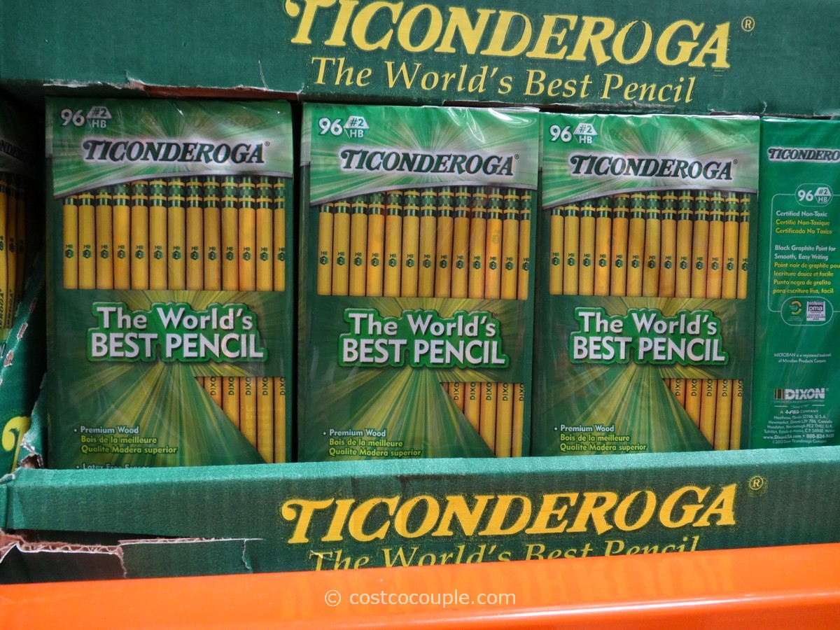 Dixon Ticonderoga No 2 Pencils Costco