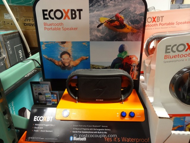 EcoExtreme Waterproof Bluetooth Speaker Costco 1