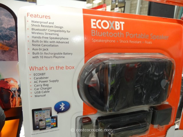 EcoExtreme Waterproof Bluetooth Speaker Costco 4